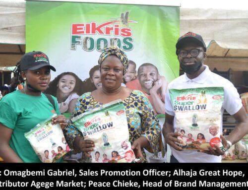 Elkris Superoat Swallow thrills with open market and neighbourhood storming